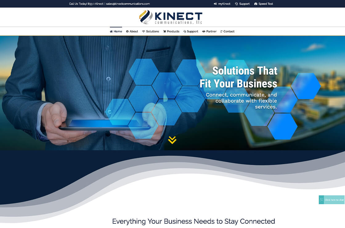 kinect communications